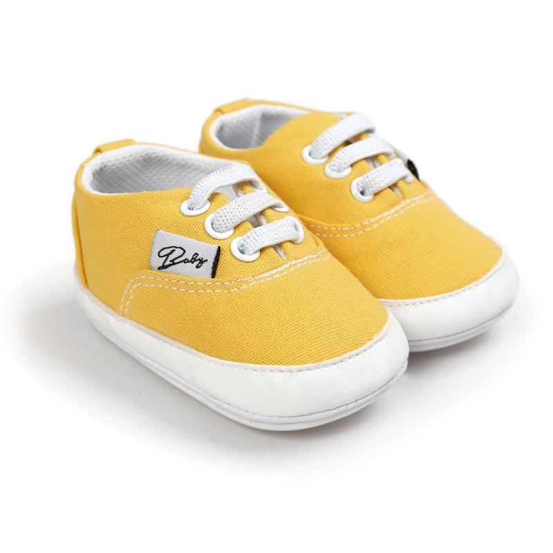Wiosna Jesień Dziecko Noworodka Dziewczynka Chłopiec Miękkie Podeszwy antypoślizgowe Maluch Prewalker Niemowląt Sneaker Buty Na Co Dzień 41
