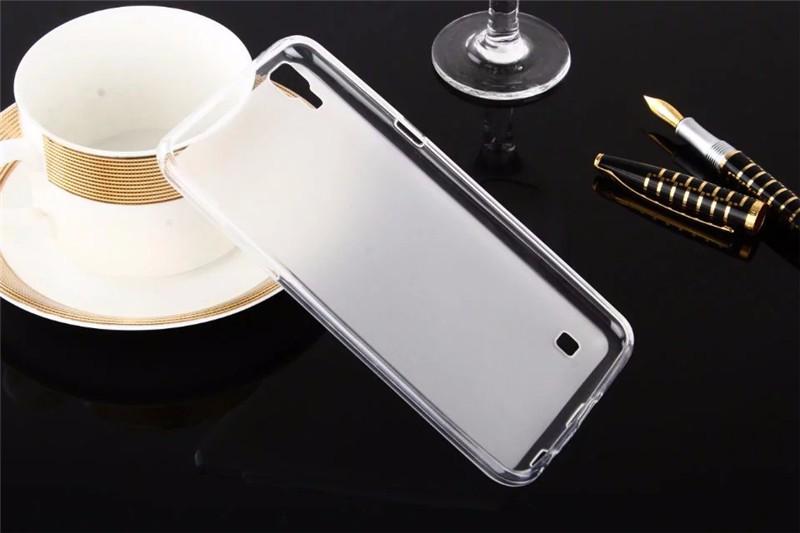 Dla LG X Przypadku Zasilania 5.3 cal Matte TPU Back Cover Case dla LG X Power K210 K220 K220ds Case Miękkie Silikonowe Ochronna Futerał na Telefon torba 7