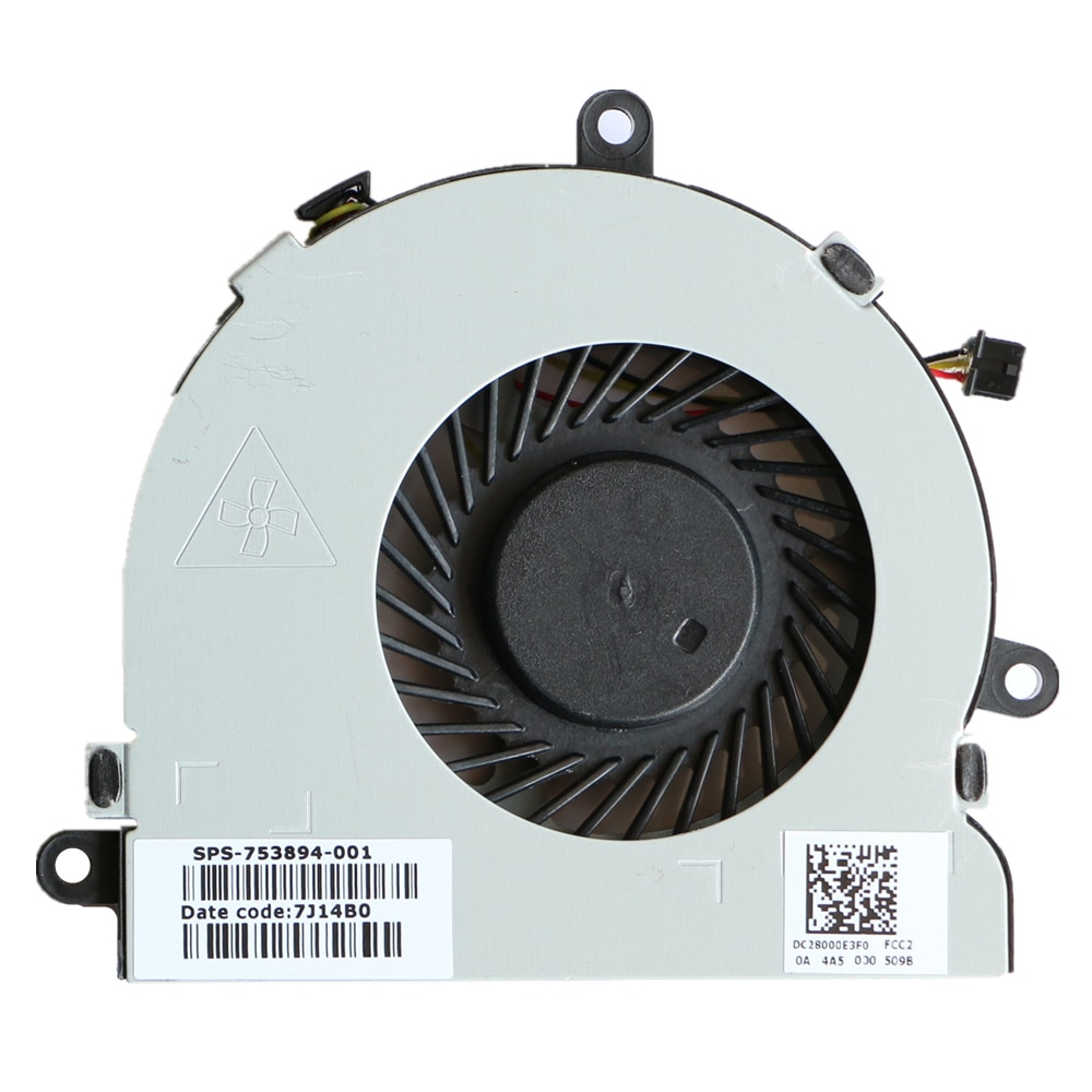 New Original Cpu Fan For HP 15-G000 15-G100 15-R000 15-R100 250G3 246G3 Cpu Cooling Fan DFS470805CL0T FFG7 753894-001