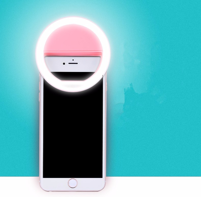 Luksusowe Uniwersalne Świetlna LED Flash Light Up Selfie Telefonu Pierścień Dla iPhone 6 6 S Plus LG Samsung Dla Xiaomi Huawei Lenovo Oneplus 8