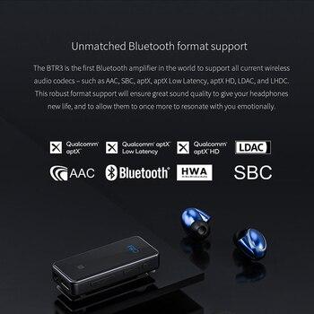 BTR3 CSR8675 AK4376A USB DAC Portable Bluetooth APTX HD LDAC LHDC