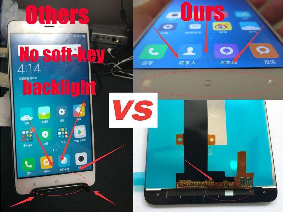 Xiaomi redmi note 3 pro wyświetlacz lcd + ekran dotykowy 5.5 cal 1920x1080 fhd wymiana digitizer montażowe dla pro/prime telefon 5