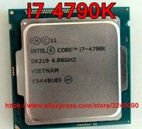 Original Intel CPU CORE i7 4790 K Prozessor 4,00 GHz 8 M Quad-Core i7-4790K Buchse 1150 freies verschiffen schnelle schiff heraus
