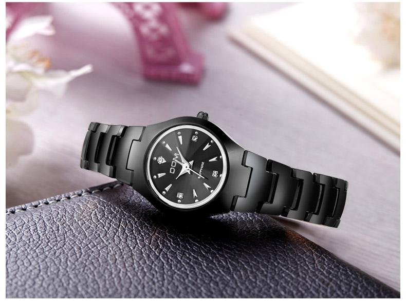 Hk dom luksusowe top marka męska zegarek wolframu stal wrist watch wodoodporna biznesu kwarcowy zegarek fashion casual sport watch 13