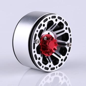 4PCS 1 9 Inch RC Rock Crawler Metal Wheel Rim BEADLOCK for 1/10 Axial