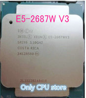 Freies verschiffen E5-2687WV3 Original Intel Xeon E5 2687WV3 3,1 GHZ 10-Core 25M Cache E5 2687W V3 FCLGA2011-3 160W