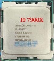 Original I9 7900X I9-7900X CPU Prozessor 3,3 GHZ LGA2066 10-Core scrattered stücke freies verschiffen
