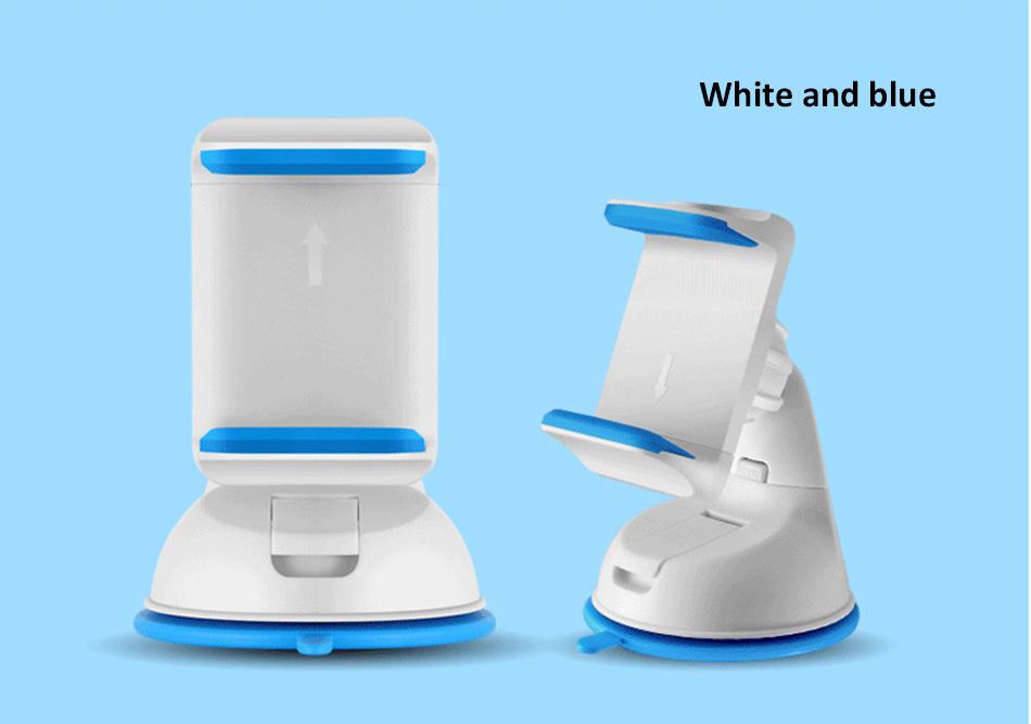 ESVNE Uniwersalny Telefon Samochodowy uchwyt szyby zamontować uchwyt na telefon komórkowy stojak uchwyt Samochodowy uchwyt na telefon Komórkowy Smartfon Telefon 14