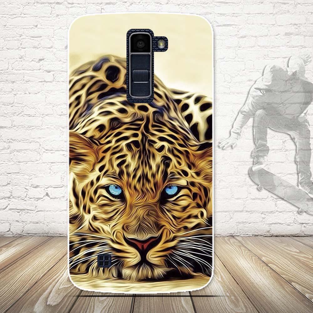 Luksusowe 3d farba miękka tpu powrót telefon pokrywa case do lg k10 lte k 10 m2 k410 k420n k430ds f670 podwójny case powrót silikon pokrywa torby 20