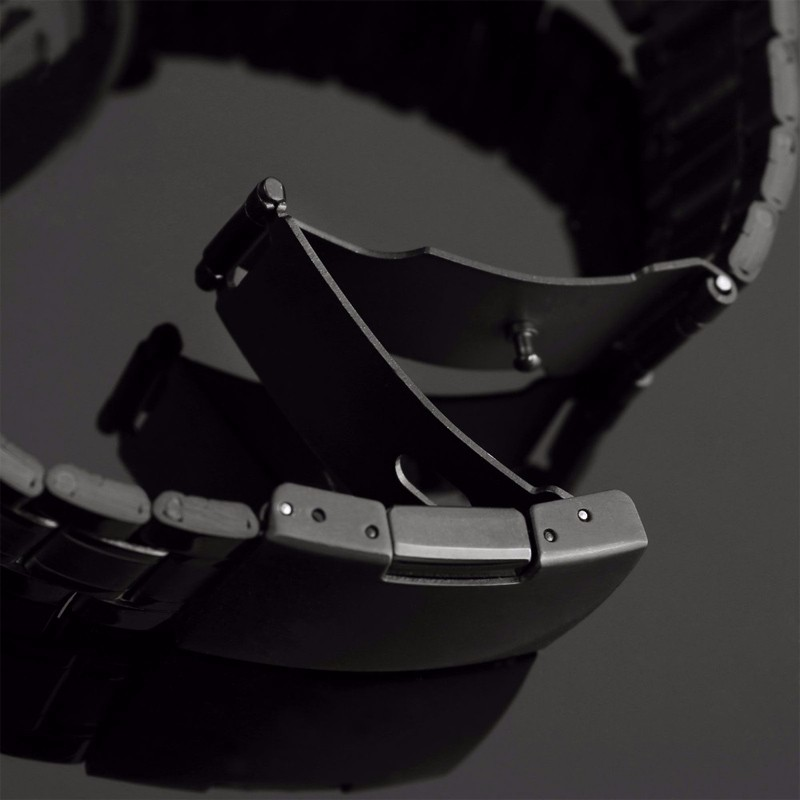 2016 Nowy Czarny męska Skeleton Antyczne Steampunk Casual Automatyczne Skeleton Mechaniczny Zegarek Ze stali Nierdzewnej Zegarki Męskie 4