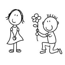 """Résultat de recherche d'images pour """"garcon a genoux pour des fleurs"""""""