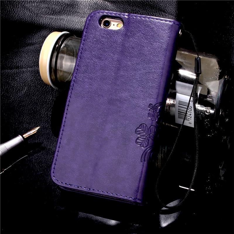 Dla iphone 7 plus 4S 5S 4 5 6 s skórzane etui z klapką case do samsung galaxy a3 a5 j3 j5 2016 j1 s6 s7 s3 s4 s5 mini grand prime pokrywa 18