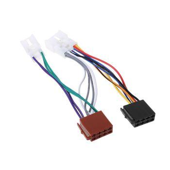 ISO Car Radio Wiring Harness Adapter Plug Cable For TOYOTA Lexus Radio Wiring Harness Adapter Toyota on