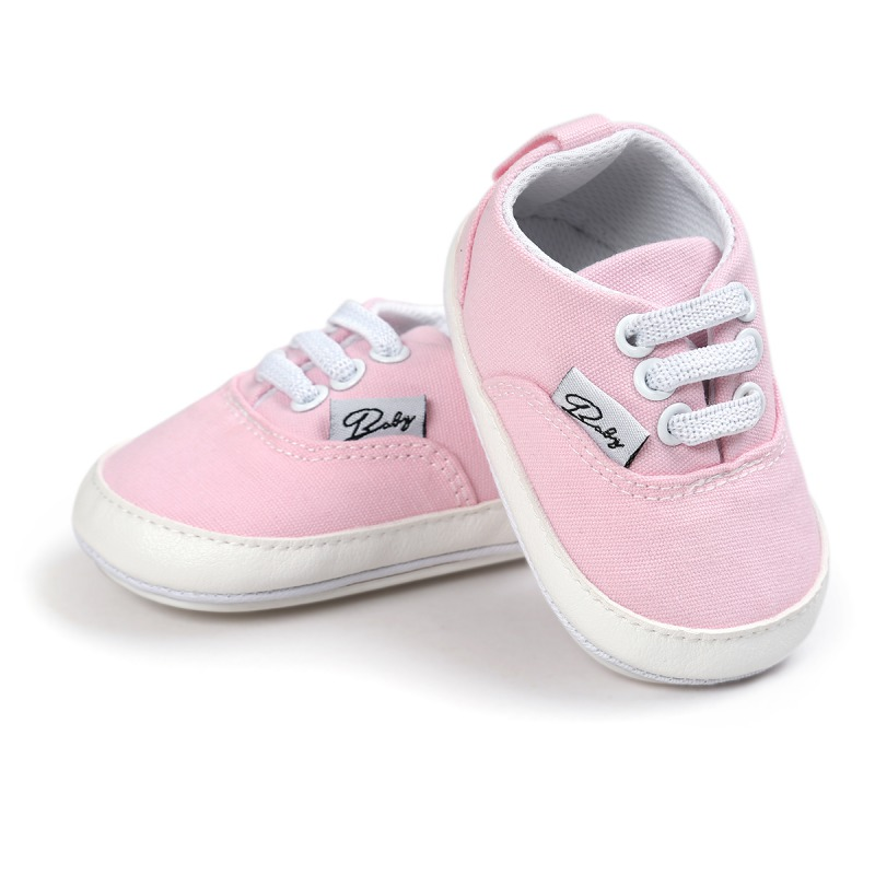 Wiosna Jesień Dziecko Noworodka Dziewczynka Chłopiec Miękkie Podeszwy antypoślizgowe Maluch Prewalker Niemowląt Sneaker Buty Na Co Dzień 33