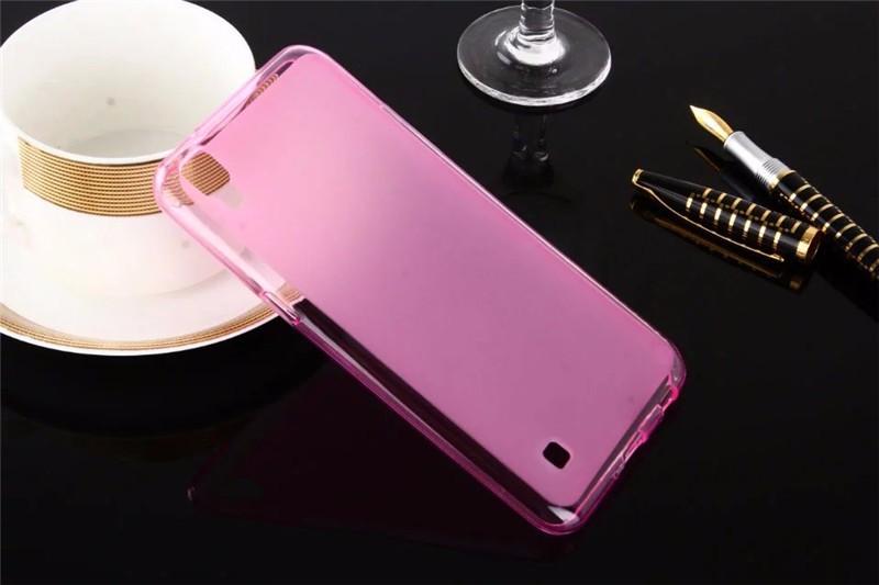Dla LG X Przypadku Zasilania 5.3 cal Matte TPU Back Cover Case dla LG X Power K210 K220 K220ds Case Miękkie Silikonowe Ochronna Futerał na Telefon torba 5