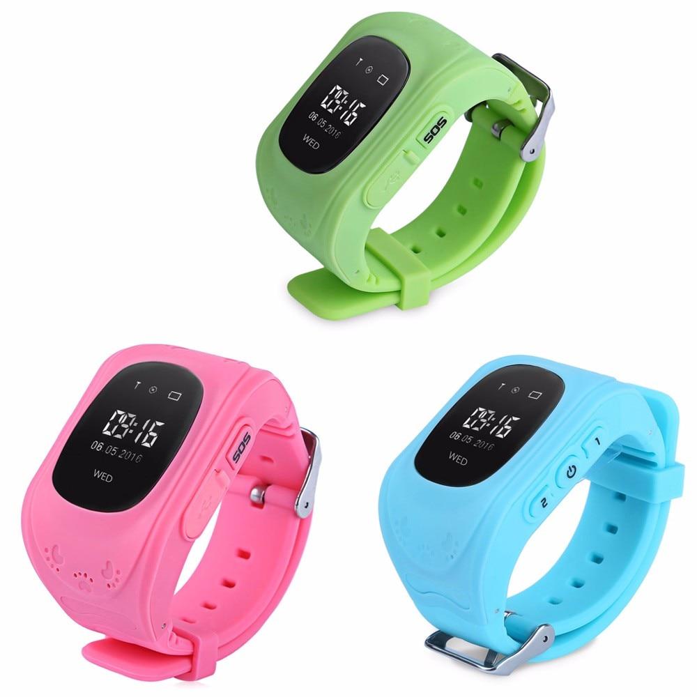 Q50 inteligentny kid safe locator location finder tracker sos rozmowy gps smart watch zegarek oled/wyświetlacz lcd dziecko anty zagubiony monitor 9