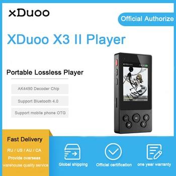 XDuoo X3II X3 II USB DAC Mp3 плеер Bluetooth 4,0 AK4490