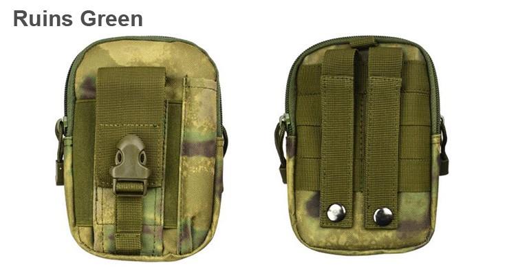 Uniwersalny Odkryty Wojskowy Molle Tactical Kabura Pasa Biodrowego Pasa Torba portfel kieszonki kiesy telefon etui z zamkiem błyskawicznym na iphone 7/lg 23