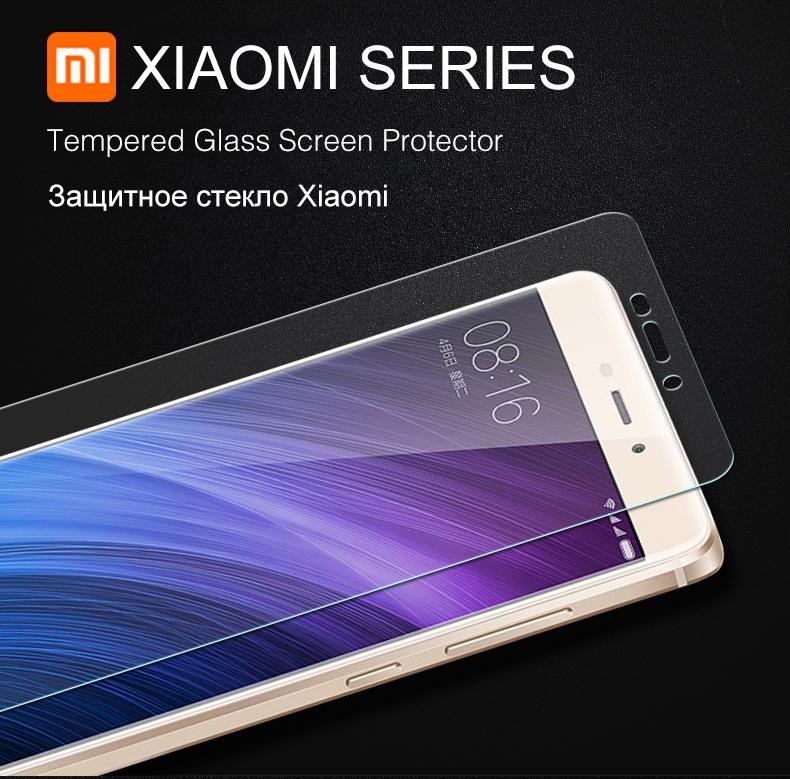 Szkło hartowane screen protector dla xiaomi redmi 4 aiyoo pro uwaga 3 4 4x mi4 redmi 3 s 4a mi6 mi5s plus mi5 mi4i mi4c szkło film 1