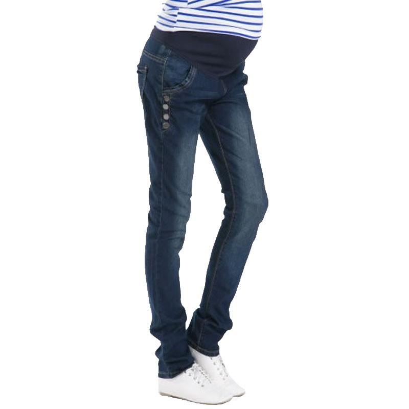 Spodnie Ciążowe jeansowe Spodnie Jeansowe Spodnie Dla Kobiet W Ciąży Ciąża Odzież Laktacja Ropa Para Embarazadas 2017 Ubrania Matki 7