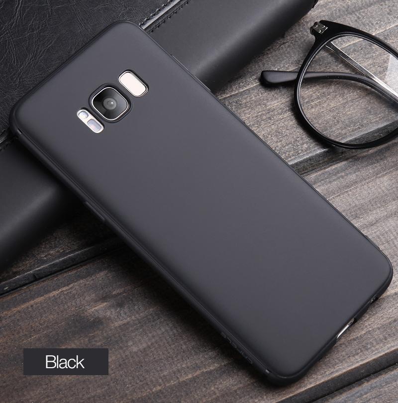 Cafele miękka tpu case do samsung s8/s8 plus sprawach slim powrót protect skóry ultra thin telefon pokrywa dla samsung galaxy s8 plus 12