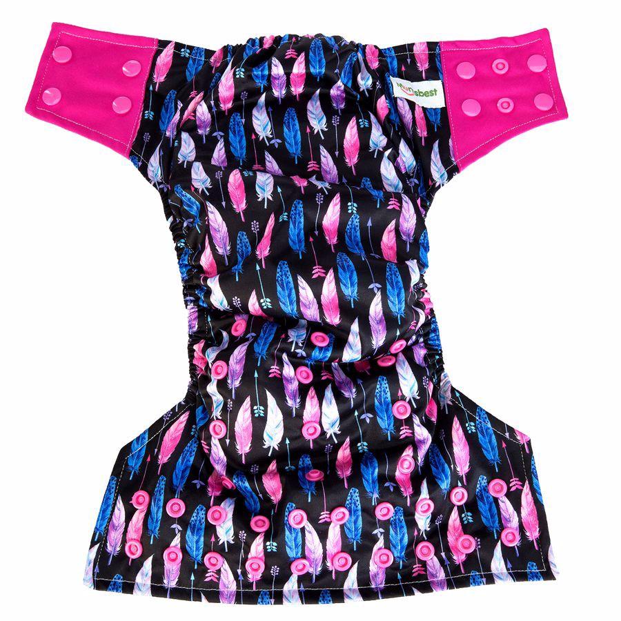 [Mumsbest] 2017 AIO Cloth pieluchy Pokrywa Z Mikrofibry Wkładki Wielokrotnego Użytku Dla Niemowląt Dla Niemowląt Chłopców i Dziewcząt Prać Tkaniny Pieluchy Pieluszki 9