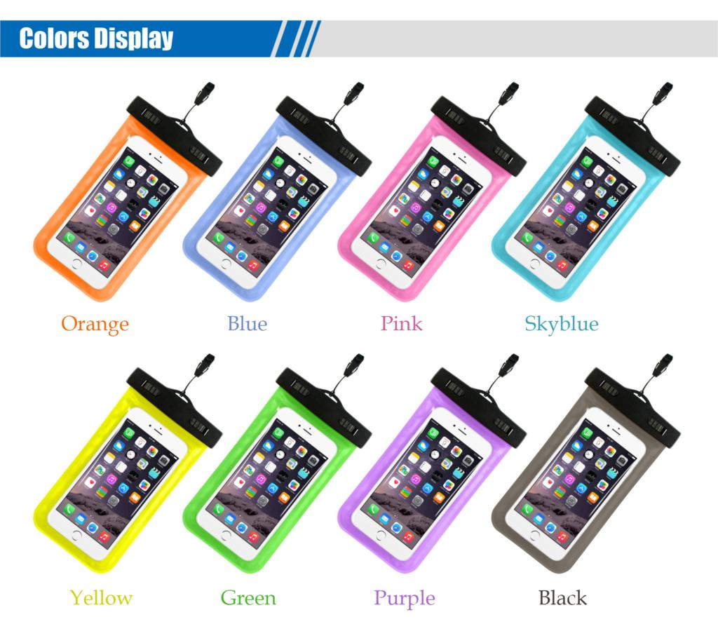Tmalltide Uniwersalny Telefon Torby Etui z Paskiem Wodoodporne Przypadkach 5S Pokrowce na iPhone 6 6 S 7 Plus Skrzynki Pokrywa 8
