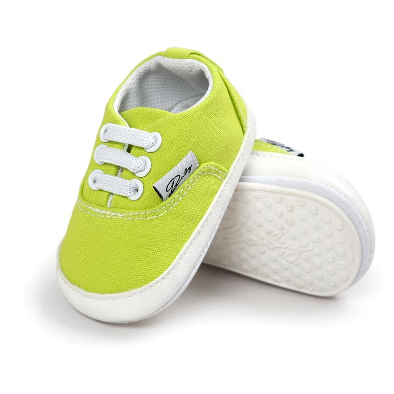 Wiosna Jesień Dziecko Noworodka Dziewczynka Chłopiec Miękkie Podeszwy antypoślizgowe Maluch Prewalker Niemowląt Sneaker Buty Na Co Dzień 46