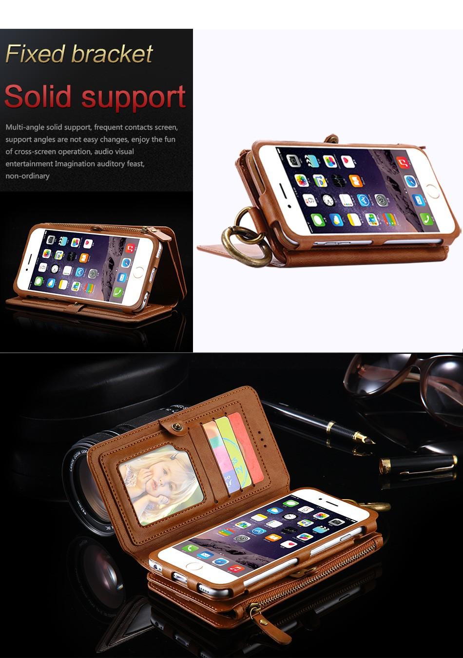 Floveme oryginalny retro skóra telefon case for iphone 6s 6 4.7 dla iphone6s iphone 6s przypadki metalowy pierścień coque pokrowce na iphone 7 4