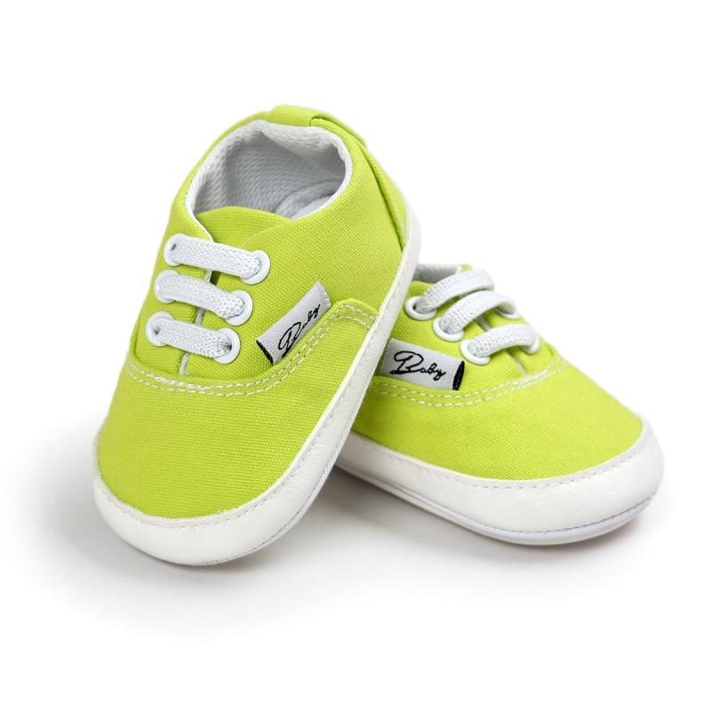 Wiosna Jesień Dziecko Noworodka Dziewczynka Chłopiec Miękkie Podeszwy antypoślizgowe Maluch Prewalker Niemowląt Sneaker Buty Na Co Dzień 44