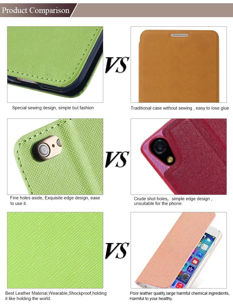 Kisscase dla iphone 5s se telefon case luksusowe kolor skórzane etui z klapką case dla apple iphone 5 5s 5g slot kart pokrywa torba dla iphone SE 6