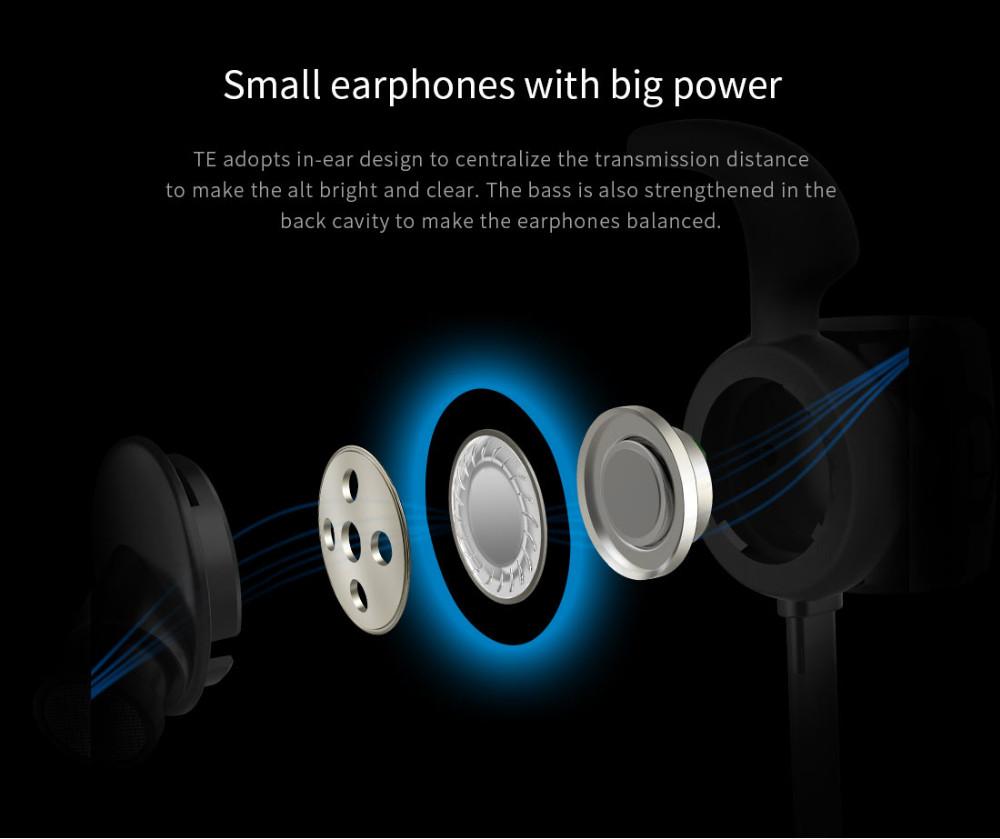 Te bluedio sport zestaw słuchawkowy bluetooth/pot dowód słuchawki bezprzewodowe słuchawki douszne earbuds wbudowany mikrofon 4