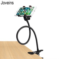 JOVEINS מתכת מחזיק טלפון גמיש תליית מיטת סוגר עצלן בעל טלפון חכם 360 תואר Stand עבור iPhone Xiaomi Huawei