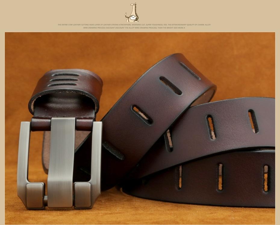 [Miluota] pasy designer mężczyźni wysokiej jakości prawdziwy skórzany pas dla mężczyzn luksusowe ceinture homme military style 130 cm mu012 7