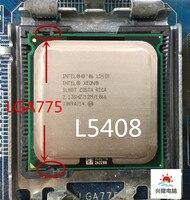 Intel sockel 775 Xeon L5408 l5408 SLAP5 SLBBT Quad-Core 2,13 GHz 12MB 1066MHz keine notwendigkeit adapter, funktioniert auf LGA 775 mainboard