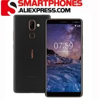 Nokia 7 Plus Original Entsperrt Android Dual Sim Telefon 4G LTE GSM 6.0 ''Dual 12MP Octa Core 4GB RAM 64GB ROM 3800mAh Fingerprint