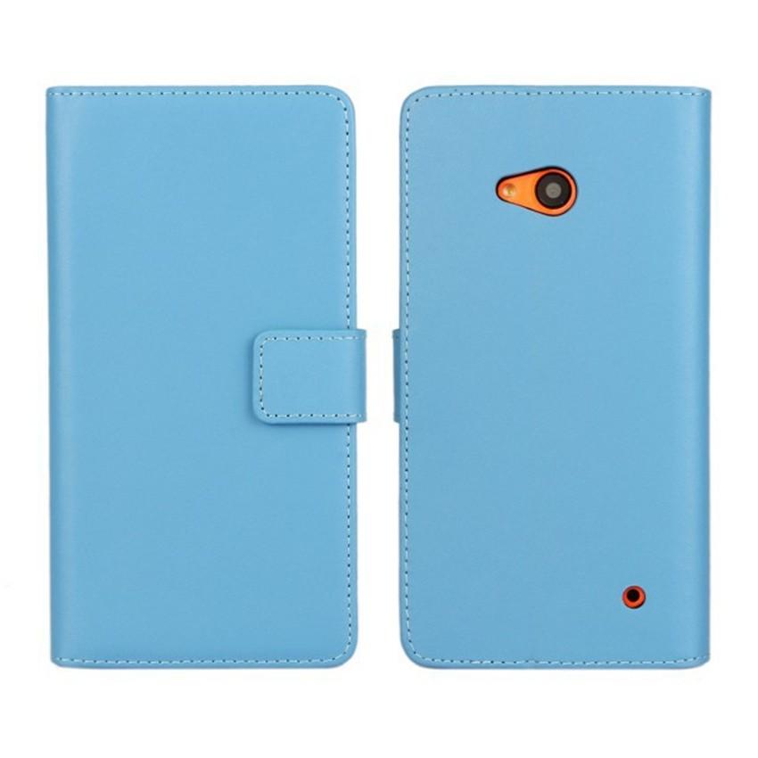 Luksusowe odwróć portfel genuine leather case pokrywa dla microsoft lumia 640 lte dual sim cell phone case do nokia 640 n640 powrót pokrywa 9