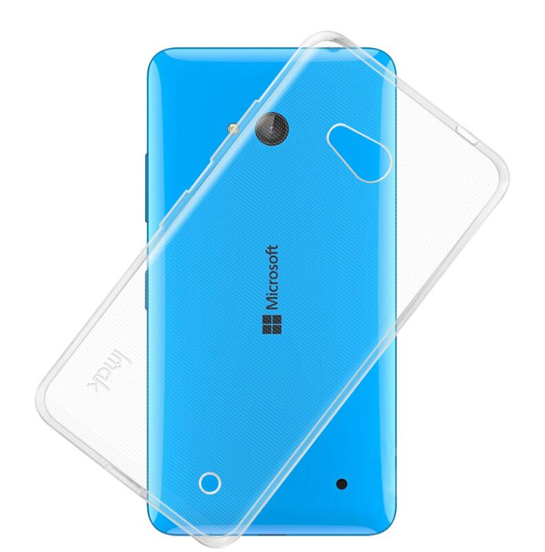 Dla microsoft lumia 535 532 435 640 640xl case cover, 0.6mm tpu case super slim miękkie back case etui na telefony 12
