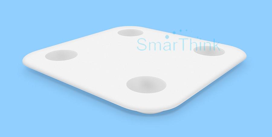 Nowy Oryginalny Xiaomi Mi Inteligentne Skala Tkanki Tłuszczowej Z Mifit APP i Składu ciała Monitor Z Ukrytym Wyświetlacz LED I Duże Stopy Pad 8
