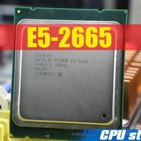 Kostenloser Versand Intel Xeon Prozessor E5-2665 C2 SR0L1 20M Cache/2.4/GHz/8,00 GT/s e5 2665 LGA 2011 E5 2650, verkauf E5 2670 2660 CPU