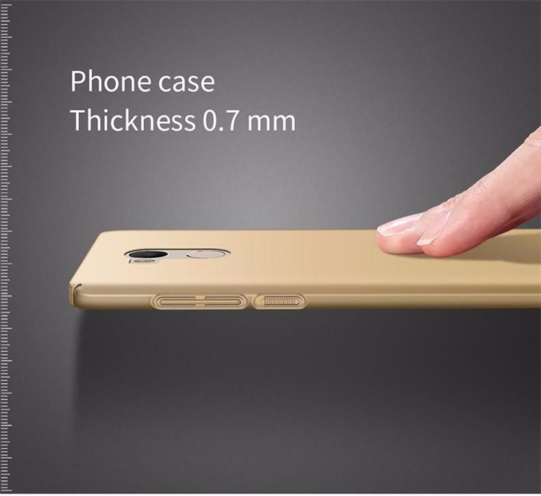 Luksusowe mocno plecy plastikowe matte case dla xiaomi redmi 4 pro przypadki przypadku xiaomi redmi 4 pełna pokrywa pc telefon komórkowy pokrycie p35 8