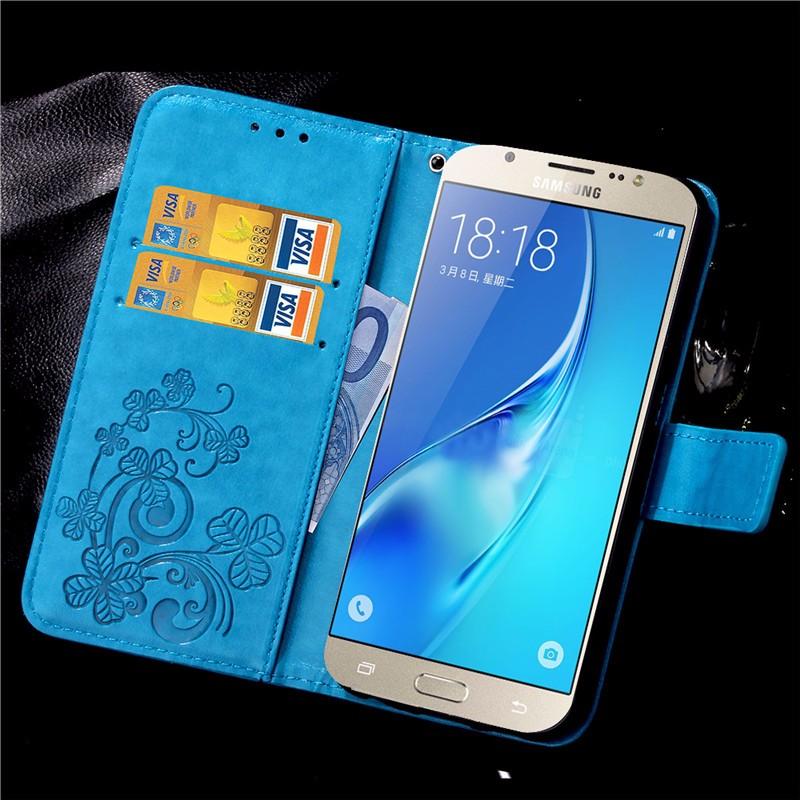 Dla iphone 7 plus 4S 5S 4 5 6 s skórzane etui z klapką case do samsung galaxy a3 a5 j3 j5 2016 j1 s6 s7 s3 s4 s5 mini grand prime pokrywa 46
