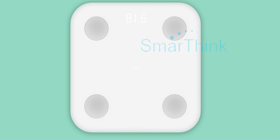 Nowy Oryginalny Xiaomi Mi Inteligentne Skala Tkanki Tłuszczowej Z Mifit APP i Składu ciała Monitor Z Ukrytym Wyświetlacz LED I Duże Stopy Pad 10