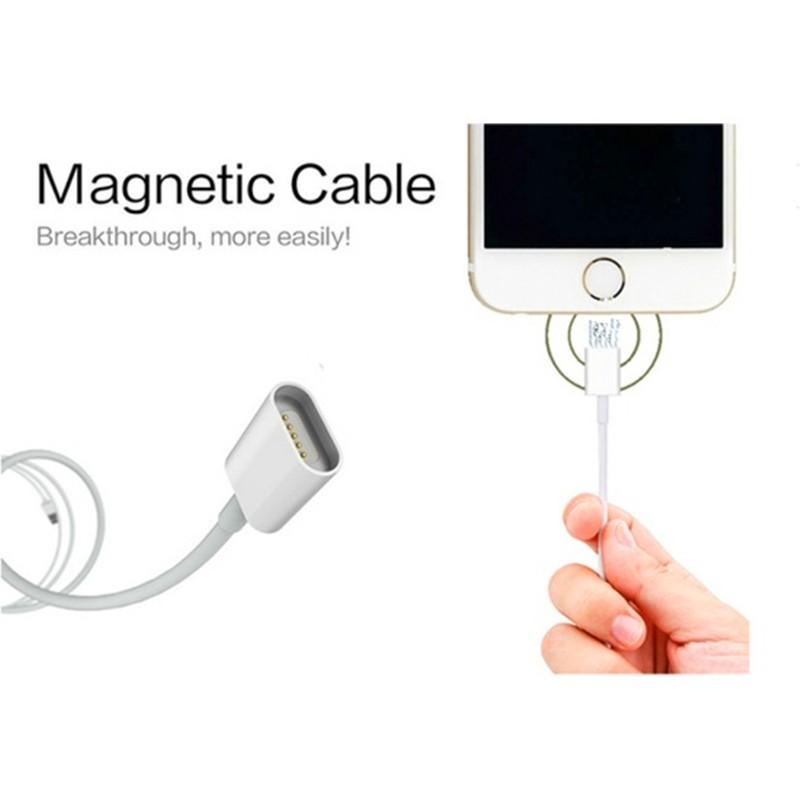 2.4a magnetyczny kabel micro usb cable dla iphone 6 6s 7 plus 5S 5 android samsung telefon komórkowy ładowania danych magnet ładowarka kabel 5