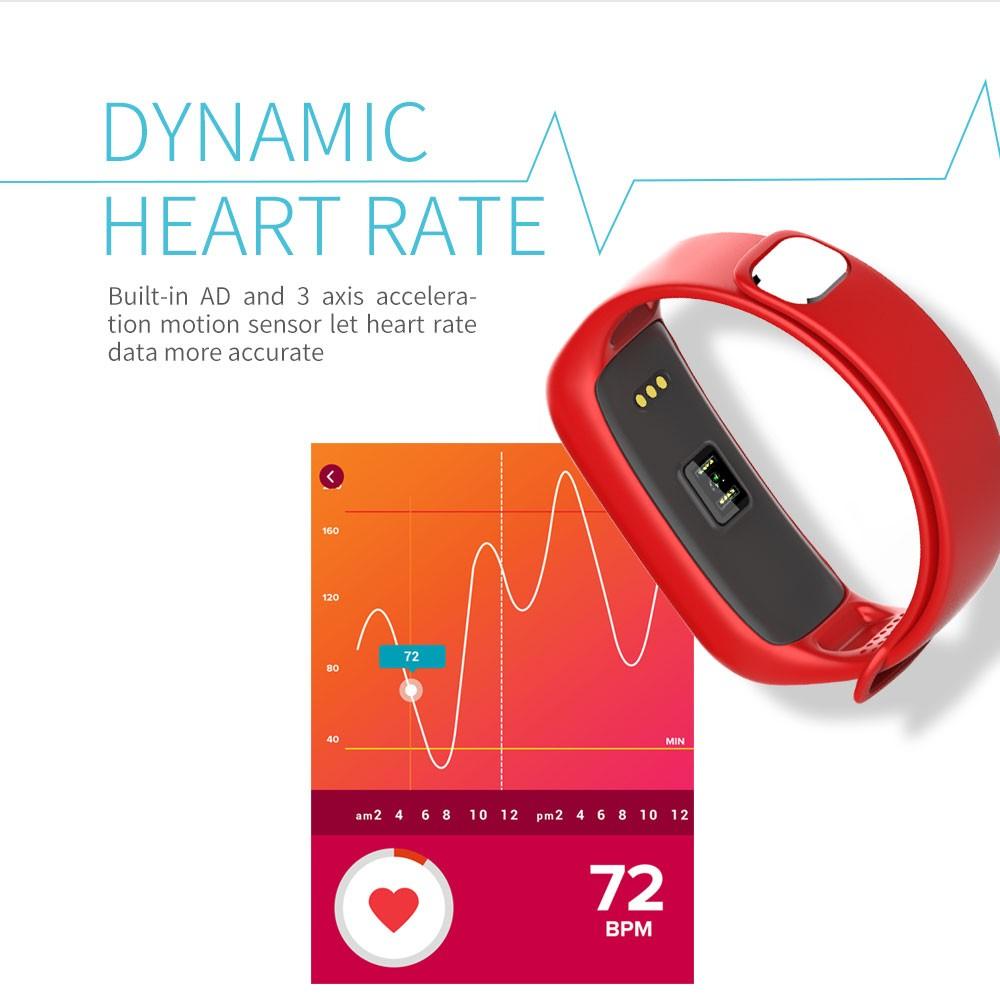 Lemfo l30t kolorowy ekran inteligentny zespół pulsometr krokomierz uśpienia fitness tracker dla andriod ios telefon 2