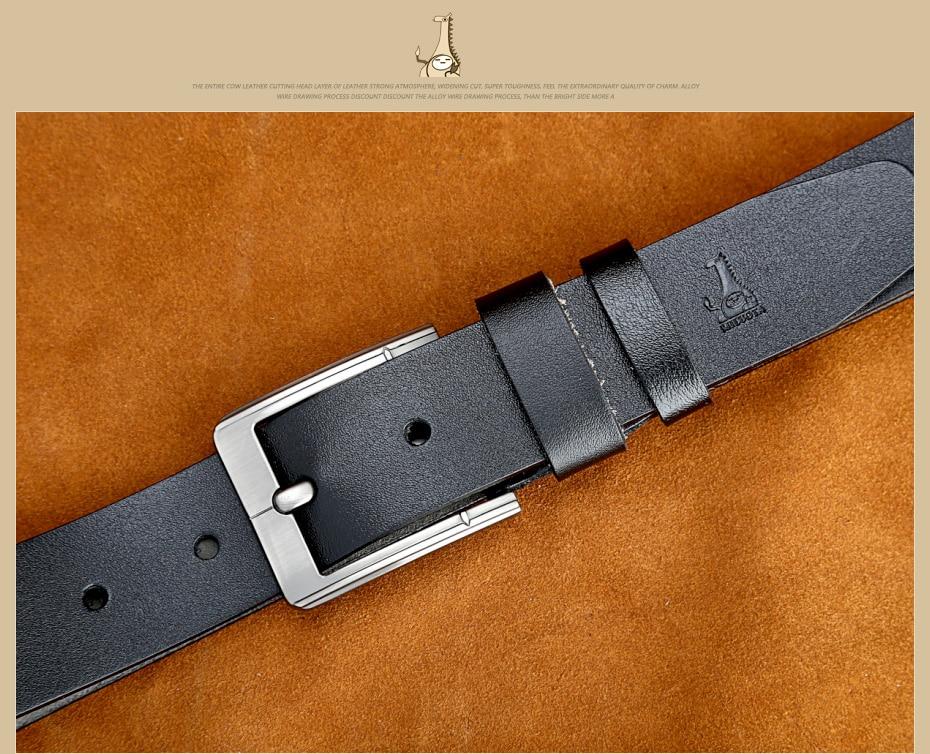 [Miluota] pasy designer mężczyźni wysokiej jakości prawdziwy skórzany pas dla mężczyzn luksusowe ceinture homme military style 130 cm mu012 26