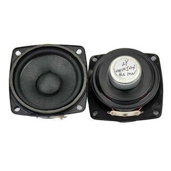 2Pcs 2 25Inch Audio Portable Speakers Full Range Speaker 8 Ohm