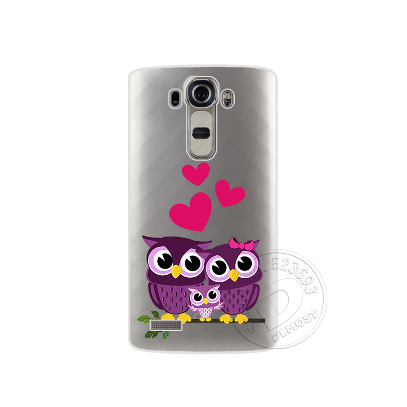 """Tpu pokrowce na lg g4 h815 h818 5.5 """"przezroczysty drukowanie rysunek silikonowe etui na telefony pokrywa dla lg g4 moda phone case 16"""