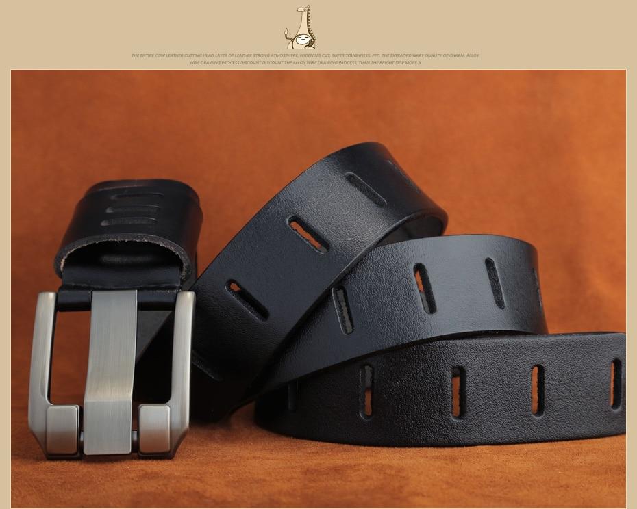 [Miluota] pasy designer mężczyźni wysokiej jakości prawdziwy skórzany pas dla mężczyzn luksusowe ceinture homme military style 130 cm mu012 9