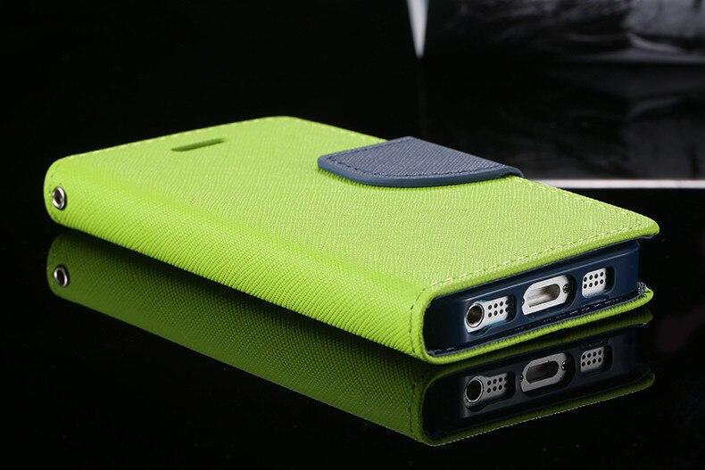 Podwójny kolor klapki skóra telefon torba case dla iphone 6 7 6 s plus 5 5S se gniazda kart + stojak kabura pokrowiec case dla iphone 7 6 6 s 17